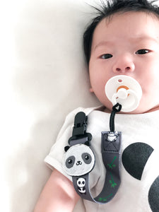 [Snapkis] 2-in-1 Baby Pacifier & Teether Clip - Not Too Big