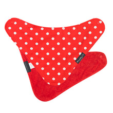 Load image into Gallery viewer, [Mum2Mum] Fashion Bandana - Not Too Big (Red Dots)