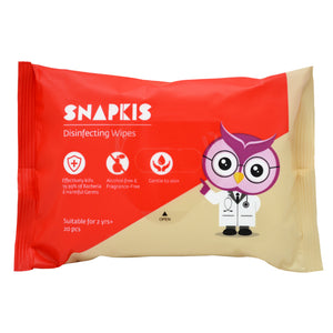 [Snapkis] Baby Disinfecting Wipes Pack - Not Too Big
