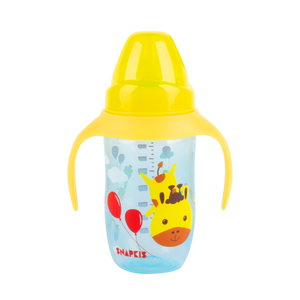 [Snapkis] Anti-Colic Training Cup Set (240ml) - Giraffe - Not Too Big