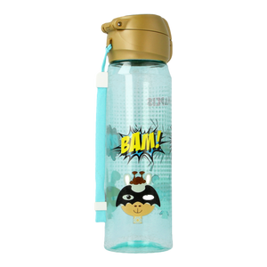 [Snapkis] Spout Bottle Superheroes for Children (500ml) - Not Too Big