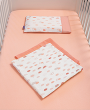 Load image into Gallery viewer, [Clevamama] Jersey Cotton Fitted Sheet Cot (2PK)