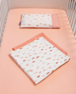 [Clevamama] Jersey Cotton Fitted Sheet Cot (2PK)