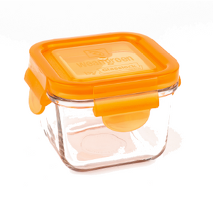 [Weangreen] Snack Cube Garden 4 Set (Assorted) - Not Too Big (Orange)