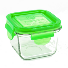 Load image into Gallery viewer, [Weangreen] Snack Cube Garden 4 Set (Assorted) - Not Too Big (Green)