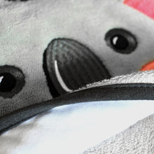 Load image into Gallery viewer, Snapkis Koala Hooded towel close up
