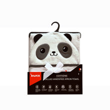 Load image into Gallery viewer, Snapkis panda hooded towel