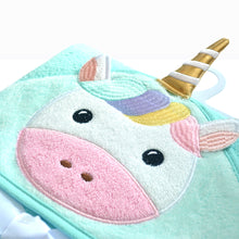 Load image into Gallery viewer, Snapkis Unicorn Baby towel
