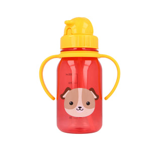 [Snapkis] My First Straw Children Water Bottle (350ml) - Not Too Big