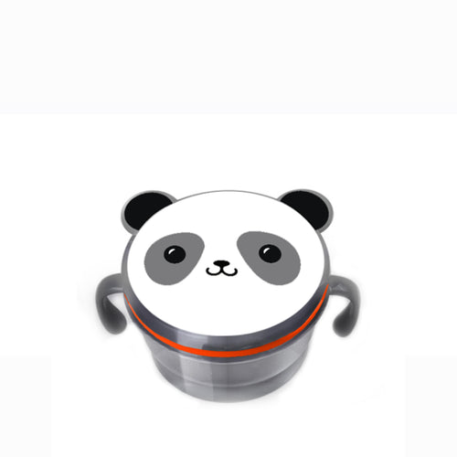[Snapkis] Lidded Snack Cup for Children (Panda) - Not Too Big