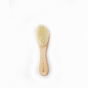 [Snapkis] Baby Wooden Hair Brush - Not Too Big