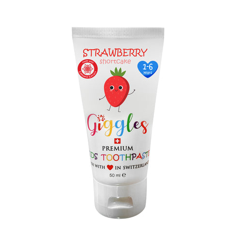 [Giggles] Toothpaste (1-6 years) - Not Too Big (Strawberry Shortcake)
