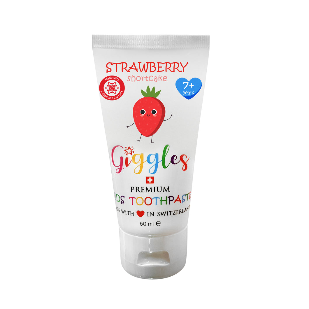 [Giggles] Toothpaste (7-12 years) - Not Too Big (Strawberry Shortcake)