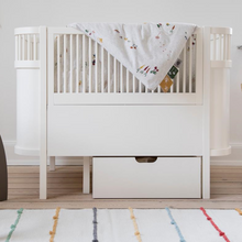 Load image into Gallery viewer, [Sebra] Sebra Bed, Baby & Jr - Not Too Big (White) in a baby nursery