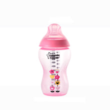 Load image into Gallery viewer, [Tommee Tippee] Closer to Nature Tinted Bottle 340ML - Not Too Big (Pink)