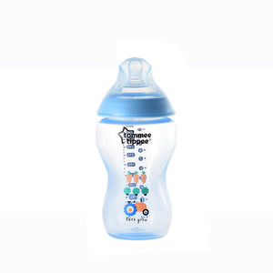 [Tommee Tippee] Closer to Nature Tinted Bottle 340ML - Not Too Big (Blue)