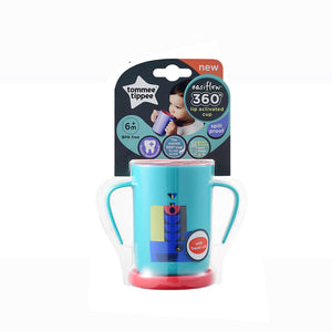 [Tommee Tippee] 360 Cup Deco - Not Too Big (Blue Trainer Cup Packaging)