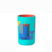 Load image into Gallery viewer, [Tommee Tippee] 360 Cup Deco - Not Too Big (Blue Tumbler)