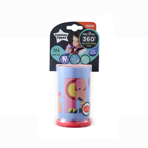 [Tommee Tippee] 360 Cup Deco - Not Too Big (Purple Tumbler Packaging)