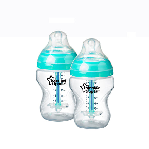 [Tommee Tippee] Closer to Nature Anti-Colic Plus Bottle (260ml/9oz) - Not Too Big (Blue)