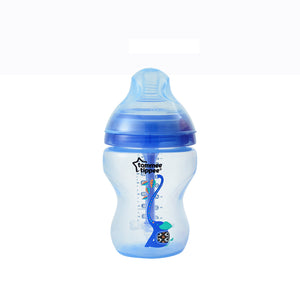 [Tommee Tippee] Closer to Nature Deco Advanced Anti-Colic Bottle - Not Too Big (Blue)