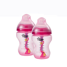 Load image into Gallery viewer, [Tommee Tippee] Closer to Nature Deco Advanced Anti-Colic Bottle - Not Too Big (Pink Twin Set)