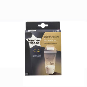 [Tommee Tippee] Closer to Nature (36PK) Milk Storage Bags (350ml) - Not Too Big Packaging