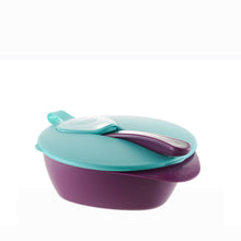 Load image into Gallery viewer, [Tommee Tippee] Explora Easy Scoop Feeding Bowl - Not Too Big (Purple)