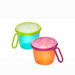 [Tommee Tippee] Explora Snack N Go - Not Too Big (Blue and Orange)
