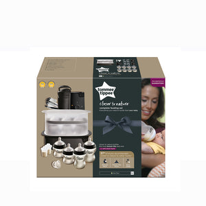 [Tommee Tippee] Complete Feeding Set Black - The Clash - Not Too Big (Packaging)