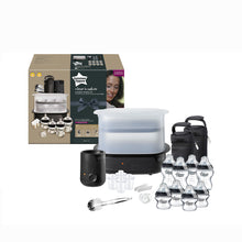 Load image into Gallery viewer, [Tommee Tippee] Complete Feeding Set Black - The Clash - Not Too Big (Packaging and Content)