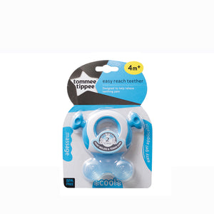 [Tommee Tippee] Closer to Nature Triple Action Teether - Not Too Big (Stage 2 for Baby 4 months and above Blue)