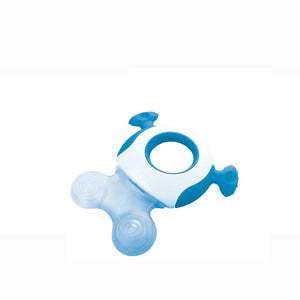 [Tommee Tippee] Closer to Nature Triple Action Teether - Not Too Big (Blue)
