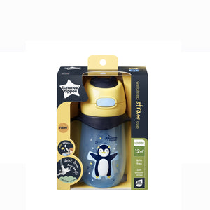 [Tommee Tippee] Weighted Straw 2 Handle Cup (300 ml) - Penguin