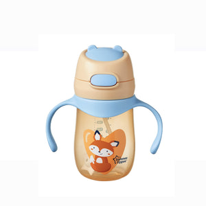 [Tommee Tippee] Weighted Straw 2 Handle Cup (240 ml) - Fox