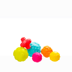 [Playgro] Textured Sensory Balls - 6 Pack (Age 6m+) - Not Too Big