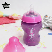Load image into Gallery viewer, [Tommee Tippee] Closer to Nature Bottle (3x 260ml) - Boldly Go (Girl)