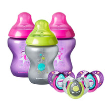 Load image into Gallery viewer, Tommee Tippee decorated bottle anticolic