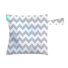 Load image into Gallery viewer, [Charlie Banana] Tote Bag - Not Too Big (Chevron Grey)