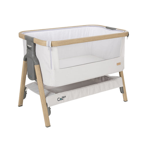 [Tutti Bambini] Cozee Bedside Crib - Not Too Big (White/Grey)