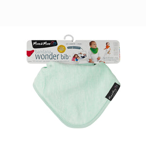 [Mum2Mum] Teething Bandana - Not Too Big (Mint Packaging)