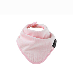 [Mum2Mum] Teething Bandana - Not Too Big (Pink)