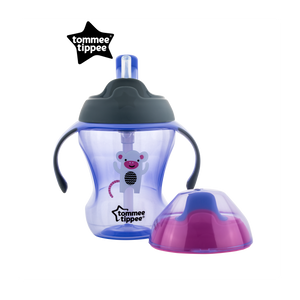 [Tommee Tippee] Explora 2-Stage Easy Drinking Cup - Not Too Big (Purple)
