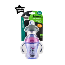 Load image into Gallery viewer, [Tommee Tippee] Explora 2-Stage Easy Drinking Cup - Not Too Big (Purple Packaging)