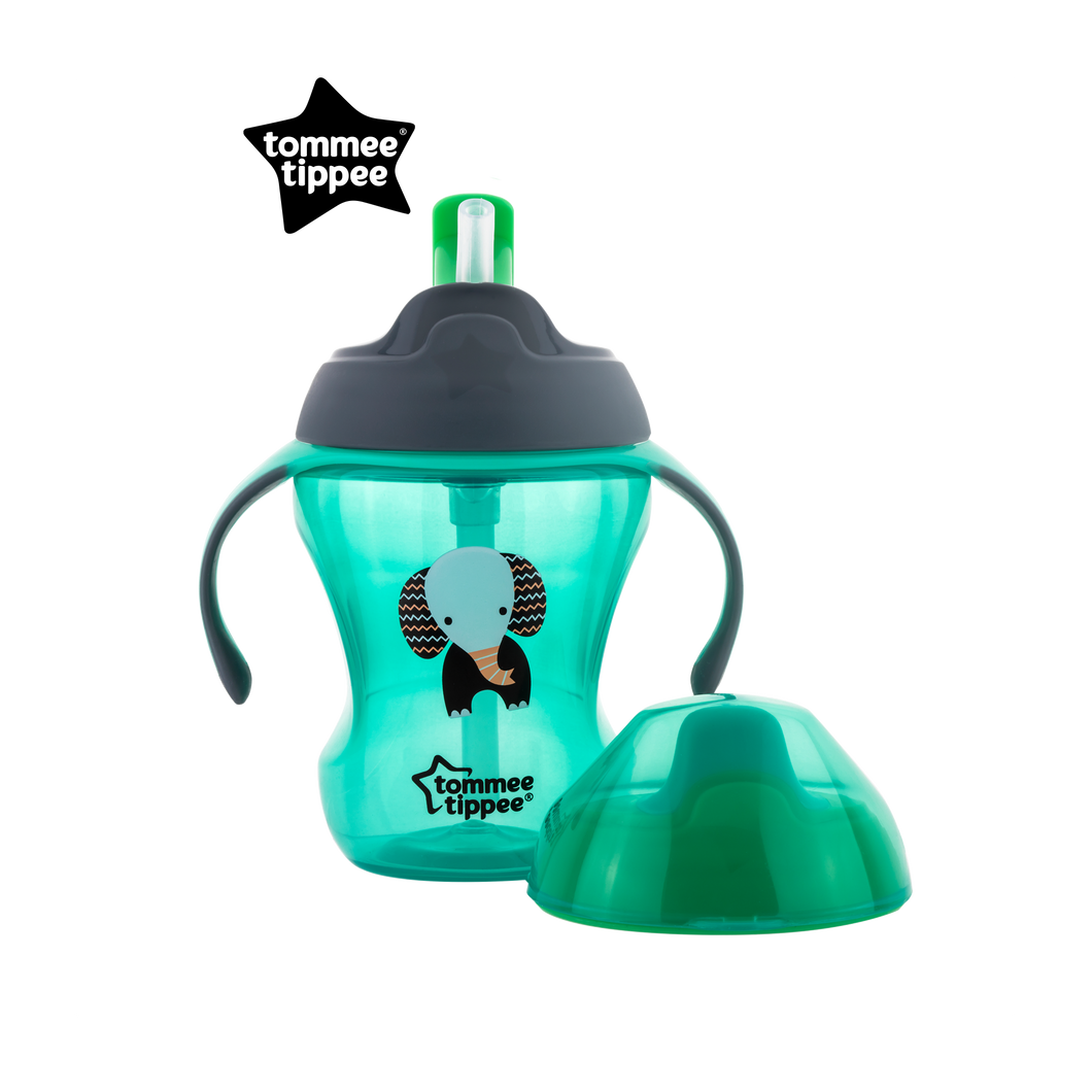 [Tommee Tippee] Explora 2-Stage Easy Drinking Cup - Not Too Big (Green)