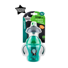 Load image into Gallery viewer, [Tommee Tippee] Explora 2-Stage Easy Drinking Cup - Not Too Big (Green Packaging)