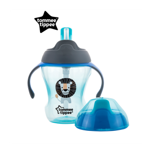 [Tommee Tippee] Explora 2-Stage Easy Drinking Cup - Not Too Big (Blue)