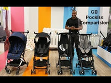 Load and play video in Gallery viewer, Video comparing the different GB Strollers