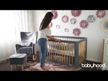 Load and play video in Gallery viewer, Babyhood Riya Cot 5-in-1 Video and Demonstration