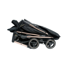 Load image into Gallery viewer, [Mimosa] Cabin City+ Baby Stroller - Not Too Big (Rose Gold) Folded and Compact